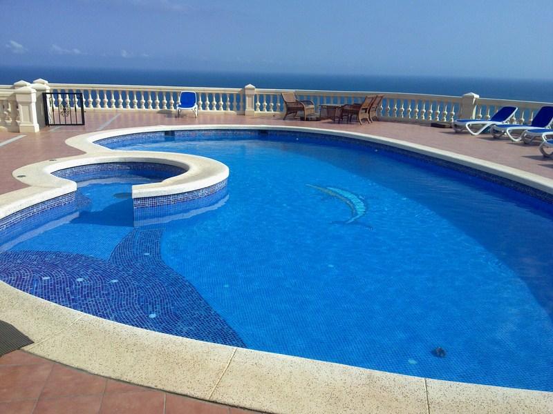 Piscinas con jacuzzi piscitec altea for Jacuzzi piscina exterior