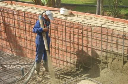 Construcción Piscina fase 4